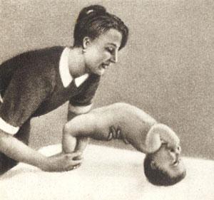 «Мост», укрепление затылочных и спинных мышц
